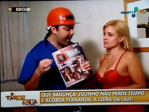 Julinho do Carmo acorda Fernanda a Loira da laje parte 1