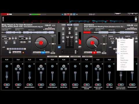 VIRTUAL DJ mezcla de electronica 2013 para fiestas D