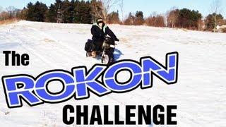The ROKON Challenge - 2-Wheel Drive Motorcycle Or Mototractor?