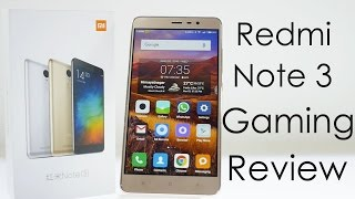 Xiaomi Redmi Note 3 Gaming Review with Temp Check & Benchmarks