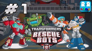 Transformers Rescue Bots: Hero Adventures - Unlock All Autobots - iOS / Android - Walktrough Video