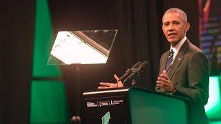 Obama en Córdoba: su mensaje en la Cumbre Verde sobre el futuro de nuestro planeta