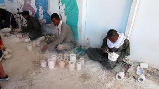 Fabrikverkauf Ägypten Alabaster Fabrik mikrokristalline Varietät Minerals Gips Gipsstein Mineralien