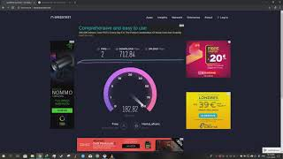 Free Fiber Optics Network France Speed Test [Download - Upload] (1.000 Mbps)