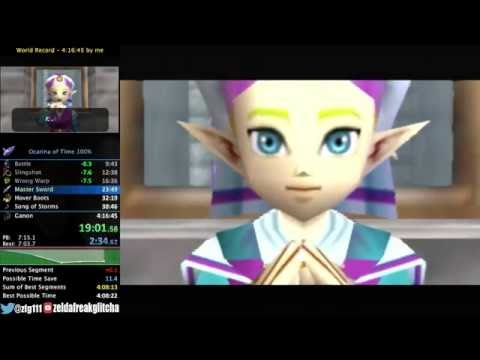 Ocarina of Time 100% Speedrun in 4:15:03