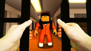 REALISTIC ROBLOX - ROBLOX PLAYER GOES TO JAIL!🔫