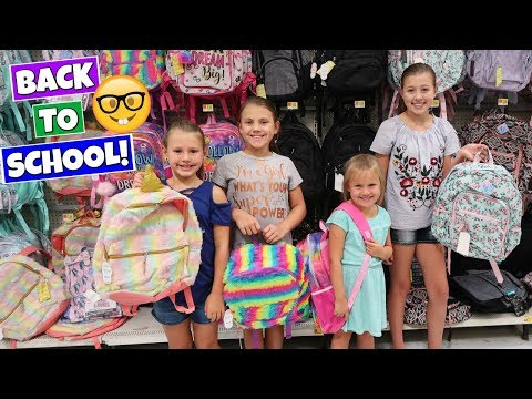 Xxx Mp4 HUGE BACK TO SCHOOL SHOPPING TRIP WITH MY SISTERS SCHOOL SUPPLIES 2018 3gp Sex