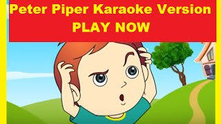 Peter Piper Karaoke Version I Kids Songs and Nursery Rhymes | Kids Rhymes