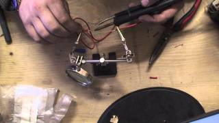 bodgit and leggit garage TNT#14 how to solder wires  together correctly