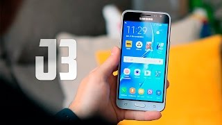 Samsung Galaxy J3, Review en español