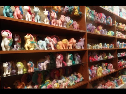 My Little Pony 1980s Complete U.S. Collection G1 Pony Room Tour!