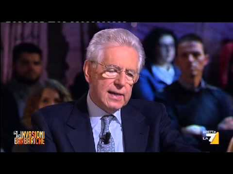 Xxx Mp4 Le Invasioni Barbariche L INTERVISTA A MARIO MONTI PRIMA PARTE 3gp Sex