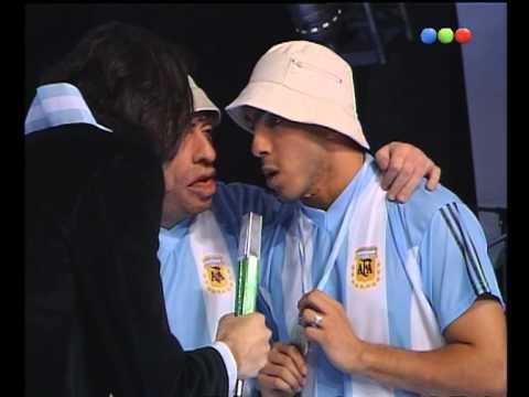 ¡Desopilante Carlos Tévez y su imitador Videomatch