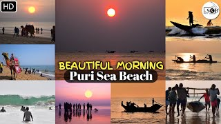 Beautiful Morning | Puri Beach | Odisha, India