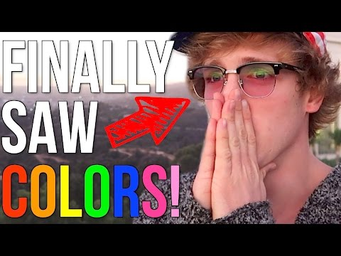 THESE GLASSES CURED MY COLORBLINDNESS