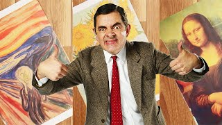 Painting | Handy Bean | Mr Bean Official
