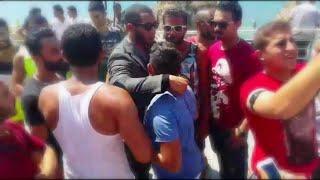 سيلفي محمد رمضان مع الجمهور اللبناني في الروشة / بيروت