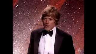 Robert Redford Wins Best Directing: 1981 Oscars