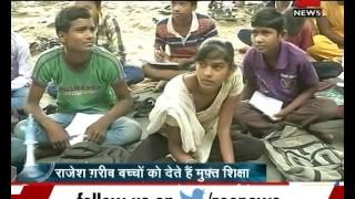 As it happens : A school under Metro bridge teaches Delhi slum children