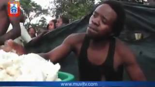 Chingola Zambia Eating Competition