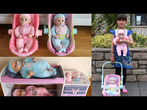 Xxx Mp4 New Baby Annabell Baby Annabell Brother Doll Plus Baby Doll Carrier And Travel Seat Nursery Toys 3gp Sex