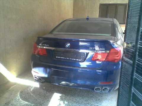 BMW Alpina B7 Biturbo  in libya arab سيارات اهل ليبيا 2010