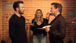 Tony Stark vs. Steve Rogers - the last donut (2016) Captain America Civil War