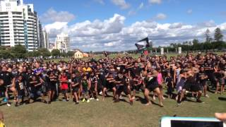 Perth City Flashmob Haka