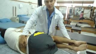 Tratamento Hérnia de Disco Lombar (Terapia Manual) Clínica de Fisioterapia Dr. Robson Sitta