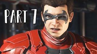 INJUSTICE 2 Walkthrough Gameplay Part 7 - Nightwing (Story Mode)