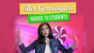Alex Gonzaga gives a wonderful advice to students - MYXclusive!