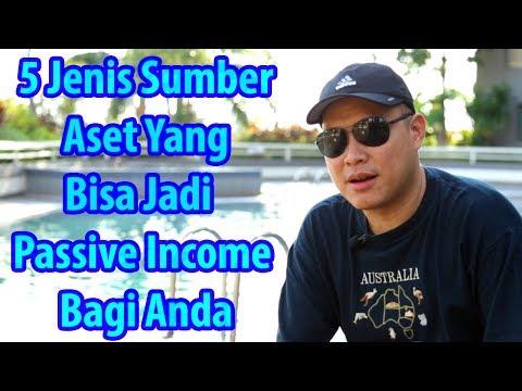 5 Jenis Sumber Aset Yang Bisa Menjadi Passive Income Bagi Anda