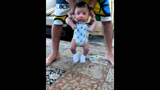 Adorable mixed arabic persian Chinese baby