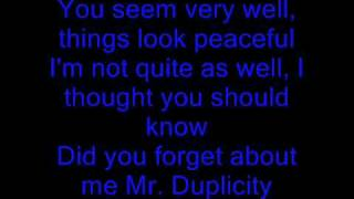 You Oughta Know  - Alanis Morissette - Lyrics
