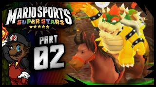 "Mario Sports Superstars - Horse Riding Gameplay PREVIEW | ""A Chip Off the Old Block!"""