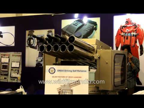 Ship Fired Torpedo Decoy Launcher for Indian Navy