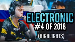 Electronic - The Russian BEAST! - HLTV.org's #4 Of 2018 (CS:GO)