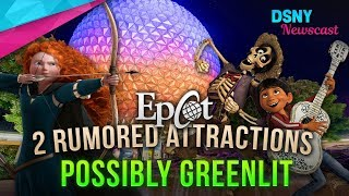 2 NEW Rides Possibly Greenlit for EPCOT Overhaul at WDW - Disney News - 12/03/17