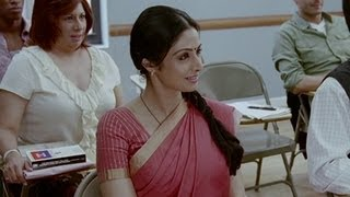 Shashi finishes the task | English Vinglish | Sridevi Best Movie
