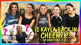 KAYLA JOINS A NEW TEAM! | IS IT FOR CHEER? | We Are The Davises