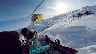 GoPro: Jamie Anderson Heli Boarding