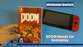 Nintendo Switch: DOOM Hands On Gameplay