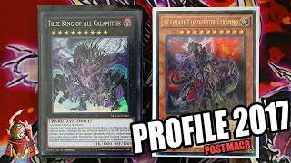 *YUGIOH* BEST! TRUE KING DINOSAUR DECK PROFILE! COMPLETE! POST.MAXIMUM CRISIS! + COMBOS! MAY 2017!!
