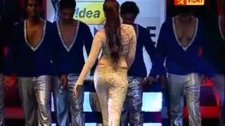 Tamannah navel hot sexy hip dancing 59th filmfare awards function 2012