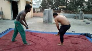 Mickey and Tarun funny kushti