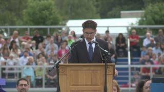 Attleboro High School graduation