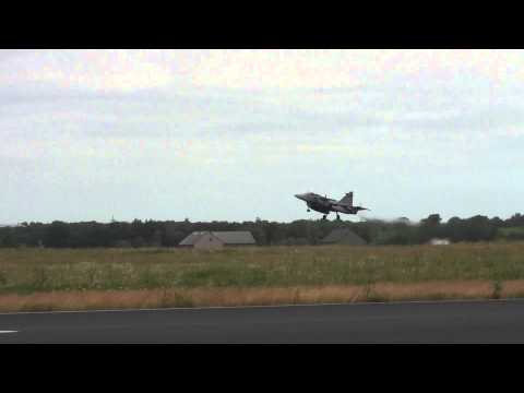 Takeoff First Wave NATO Tigermeet Spottersday Schleswig-Jagel 23-06-2014