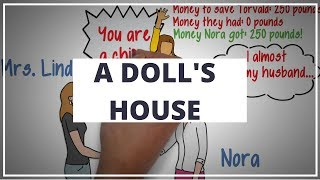 A DOLL'S HOUSE BY HENRIK IBSEN // ANIMATED BOOK SUMMARY & REVIEW GUIDE