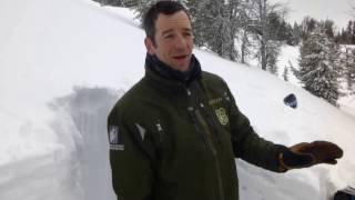 It's still winter above 9,000 feet: Buck Ridge - 14 March 2017