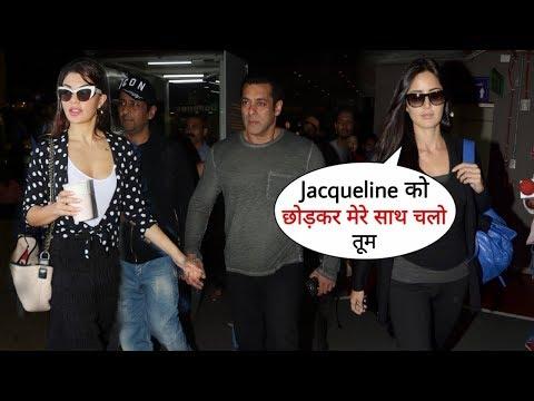 Xxx Mp4 Salman Khan Jacqueline And Katrina Kaif Together Spotted At Mumbai Airport After Dubai Show 3gp Sex